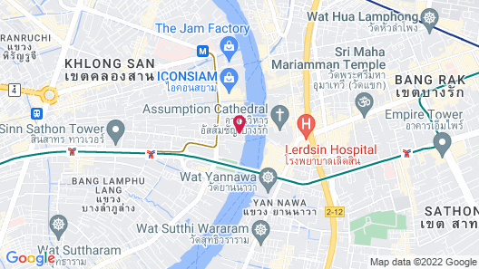 The Peninsula Bangkok Map
