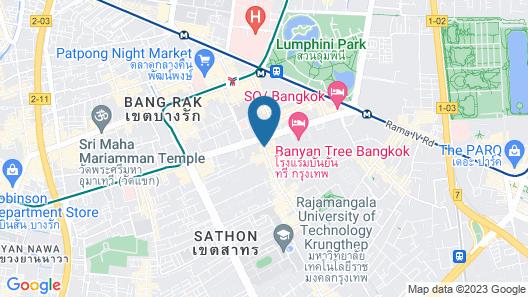 Somerset Park Suanplu Bangkok Map