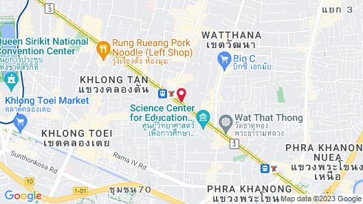 Bangkok Marriott Hotel Sukhumvit Map