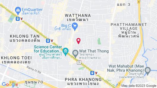 Somerset Ekamai Bangkok Map