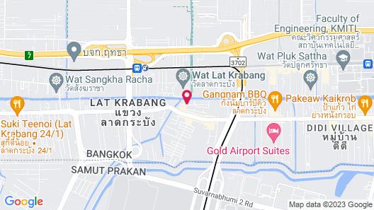 The Phoenix Hotel Bangkok Map