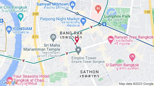 The Heritage Hotels Bangkok Map