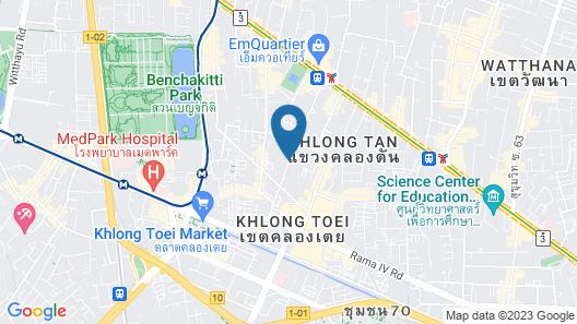 Sukhumvit Park, Bangkok - Marriott Executive Apartments Map