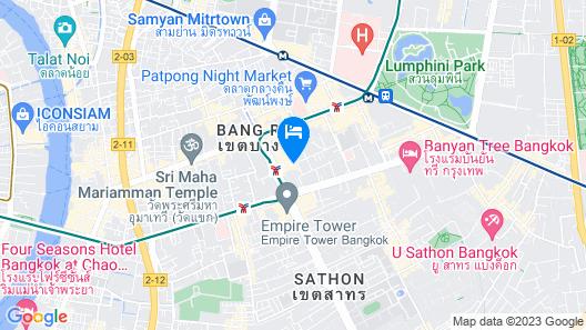 Holiday Inn Express Bangkok Sathorn, an IHG Hotel Map