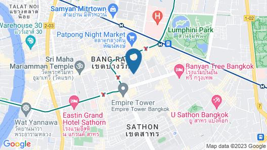FuramaXclusive Sathorn, Bangkok Map
