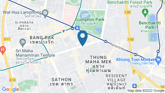 Banyan Tree Bangkok Map