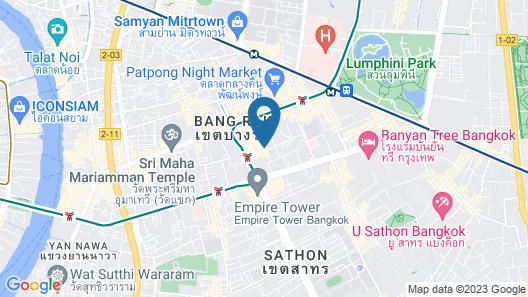 I Residence Hotel Silom Map