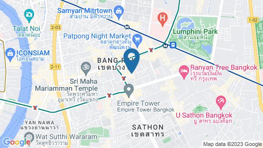 Trinity Silom Hotel Map