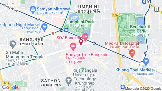 The Sukhothai Bangkok Map
