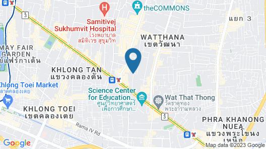 Jasmine 59 Hotel Map