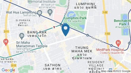 Siri Sathorn Bangkok by UHG Map
