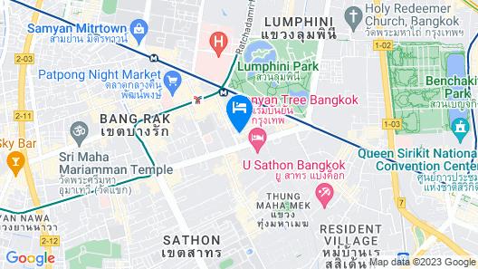Siri Sathorn Bangkok by UHG Map
