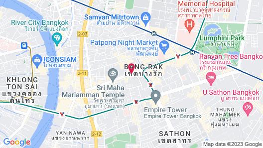 Pullman Bangkok Hotel G Map