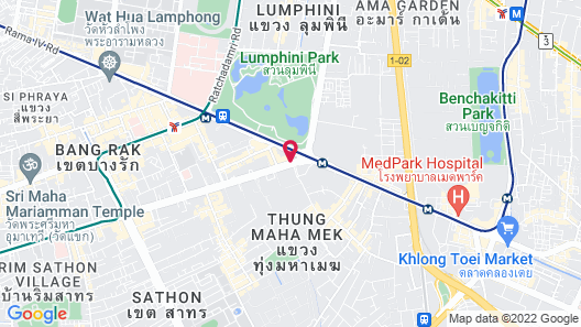 SO/ BANGKOK Map