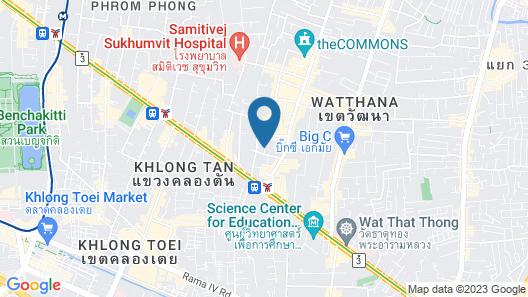 Salil Hotel Sukhumvit - Soi Thonglor 1 Map
