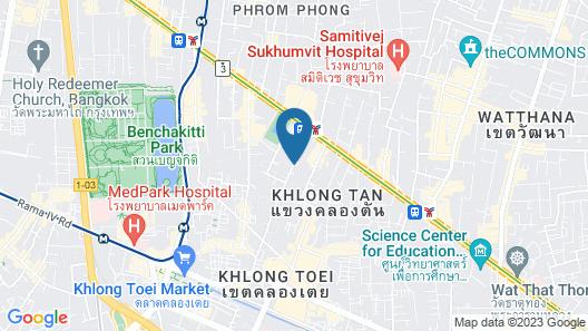 Hyatt Place Bangkok Sukhumvit Map