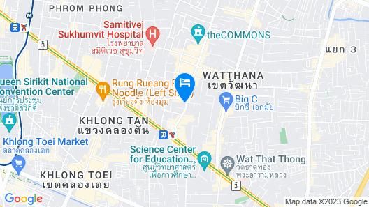 Staybridge Suites Bangkok Thonglor Map