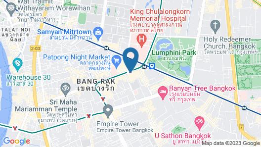 SLEEEP Bkk Silom Map