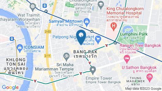 Red Planet Bangkok Surawong Map