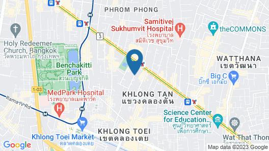 Hilton Sukhumvit Bangkok Map