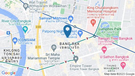 Amara Bangkok Map
