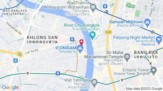 Millennium Hilton Bangkok Map