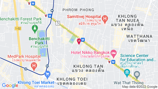 SKYVIEW Hotel Bangkok Map