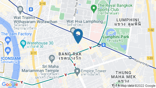 The Siam Heritage Hotel Map
