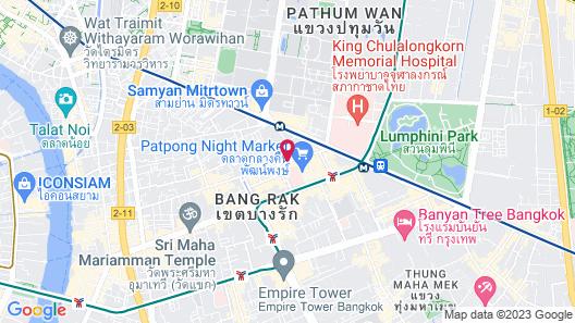 Le Meridien Bangkok Map