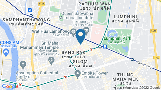 The Tawana Bangkok Map