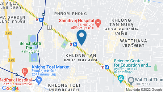 Adelphi Grande Sukhumvit  Map