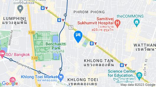 Bangkok Marriott Marquis Queen's Park Map