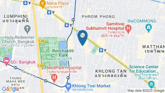 Novotel Bangkok Sukhumvit 20 Map
