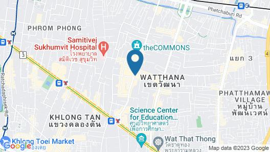 Grande Centre Point Sukhumvit 55 Map