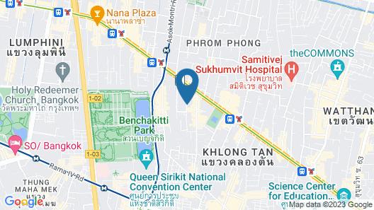 Well Hotel Bangkok Sukhumvit 20 Map