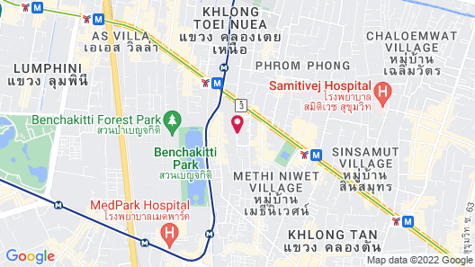 Rembrandt Hotel & Suites Map