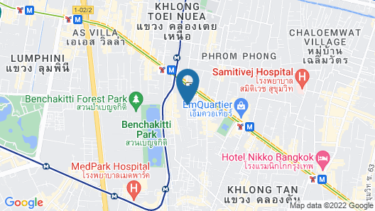 Park Plaza Bangkok Soi 18 Map