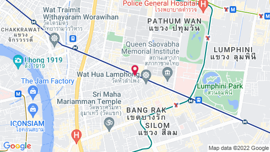 Mandarin Hotel Managed by Centre Point Map