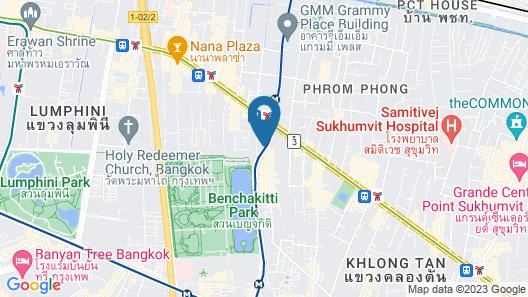 Hotel Clover Asoke Map