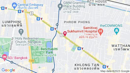 Carlton Hotel Bangkok Sukhumvit Map