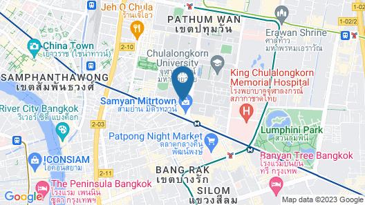 Triple Y Hotel Map