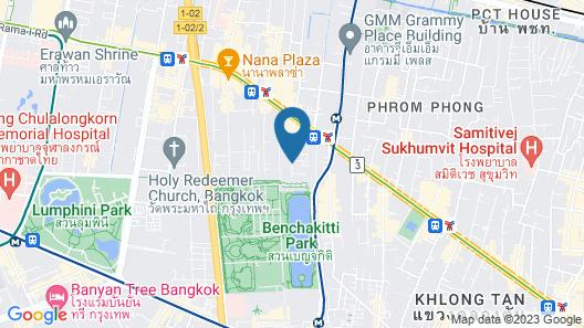 Galleria 12 Sukhumvit Bangkok by Compass Hospitality Map