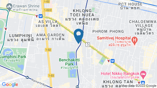 CityPoint Hotel Map