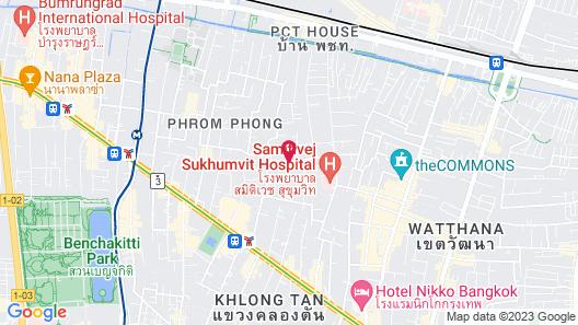 Metropole Residence Sukhumvit 39 Map