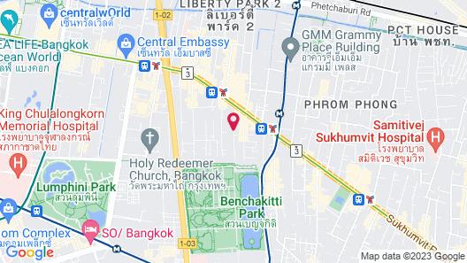 Galleria 10 Sukhumvit Bangkok by Compass Hospitality Map