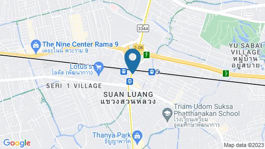 Zayn Hotel Bangkok Map