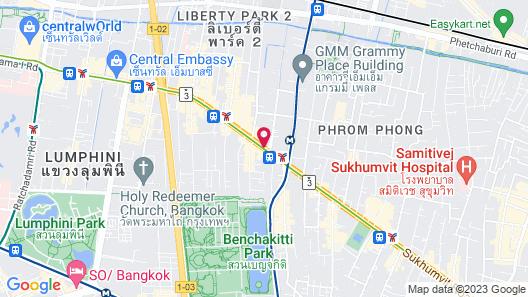 The Westin Grande Sukhumvit, Bangkok Map