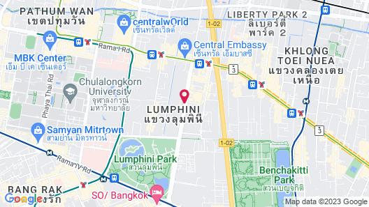 Oriental Residence Bangkok Map