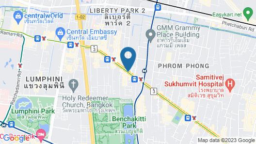 S15 Sukhumvit Hotel Map