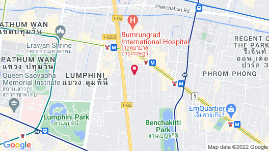 Novotel Bangkok Sukhumvit 4 Map